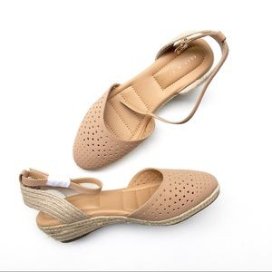 NEW Kelly & Katie Nala espadrille wedge sandal,9.5